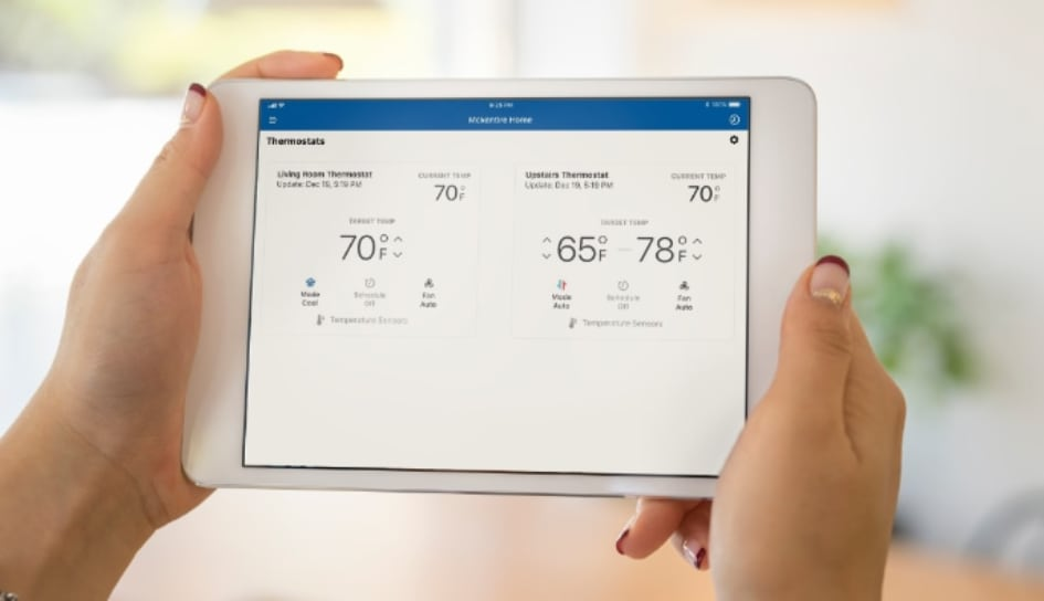 Thermostat control in Arlington